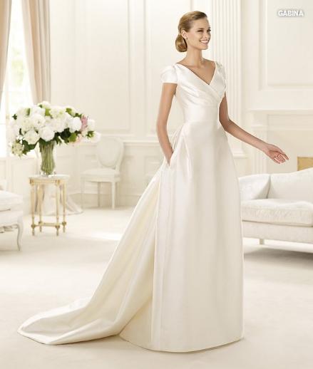 Gabina, collezione sposa Manuel Mota, abito da sposa Pronovias 2013