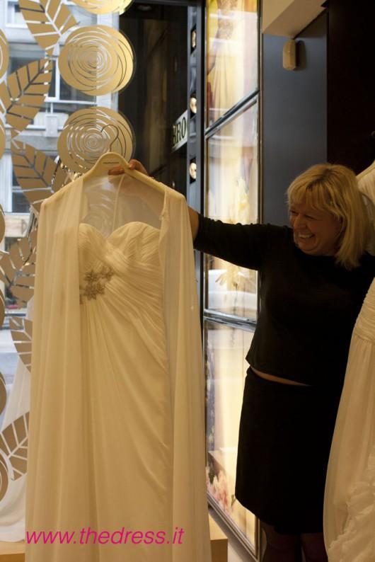 Daga, collezione Fashion, abito da sposa Pronovias 2013
