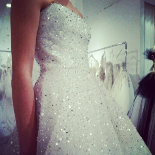 Abito da sposa Marchesa 2013 by lateliercouture on Instagram
