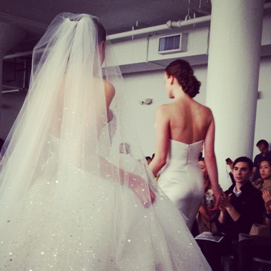 Abito da sposa Marchesa 2013 by bridesmag on Instagram