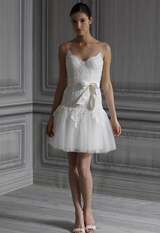 """Monique Lhuillier """"Ballet """" Spring 2012"""