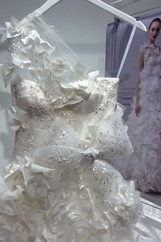 Spring 2013 abito da sposa Monique Lhuillier