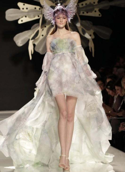 Monti Dress by Gattinoni -Foto AP Riccardo De Luca