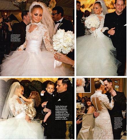 Abito da sposa Nicole Richie da In Magazine