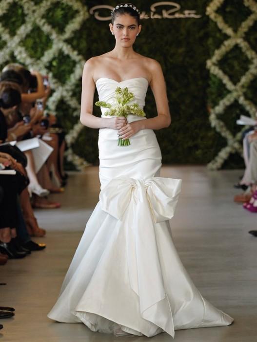 abito da sposa Oscar de la Renta Spring 2013 - Foto Oscar de la Renta
