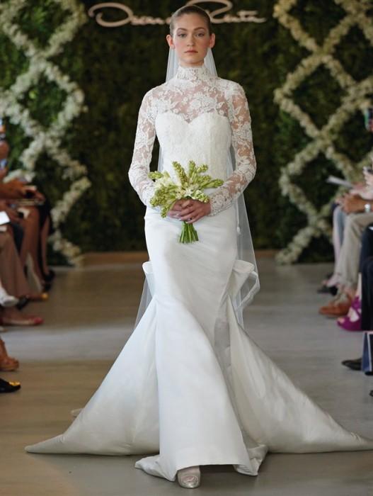 abito da sposa Oscar de la Renta Spring 2013 prezzo USA 7.990 dollari - Foto Courtesy of Oscar de la Renta