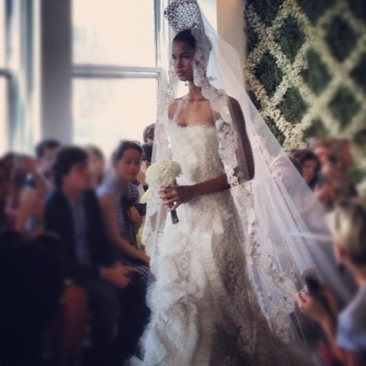 abito da sposa Spring 2013 Oscar de la Renta