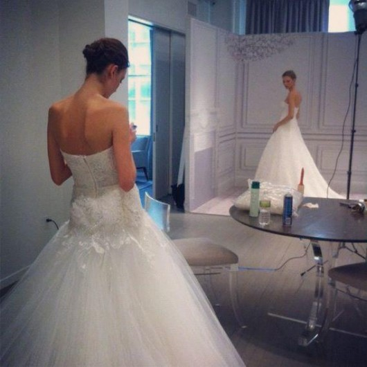 Preview Spring 2013 abito da sposa Monique Lhuillier