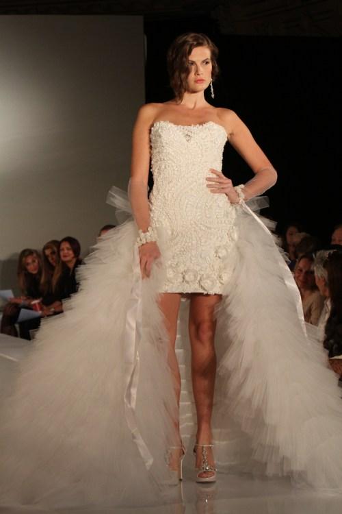 Ines di Santo wedding dress Spring 2012