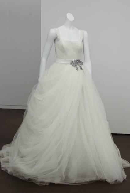 abito da sposa White Vera Wang Spring 2013 - foto ZankyouUS