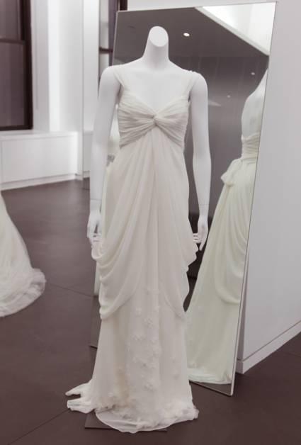 abito da sposa White Vera Wang Spring 2013 - foto da ZankyouUS