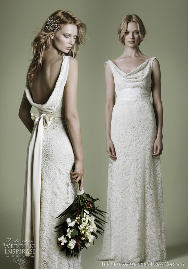 abito da sposa vintage wedding dress company - Decades Collection