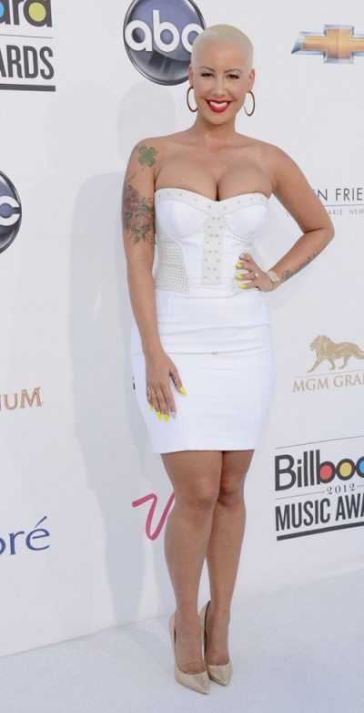 Amber Rose in Versace Billboard Music Awards