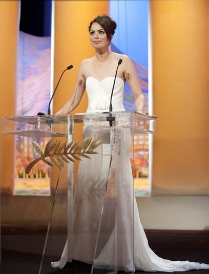 Bérénice Bejo Cannes closing ceremony Film Festival, 27.5.12, foto Abaca