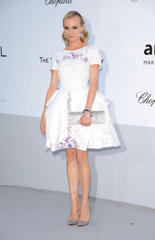Diane Kruger in Chanel Resort 2012 amfAR Gala 2012
