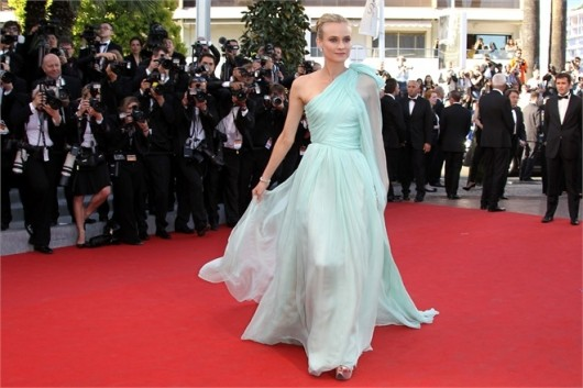 Diane Kruger in Giambattista Valli Cannes 2012 - Foto Getty
