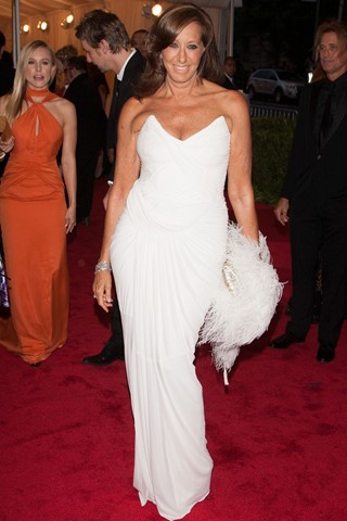 Donna Karan at Met Ball 2012 - Getty