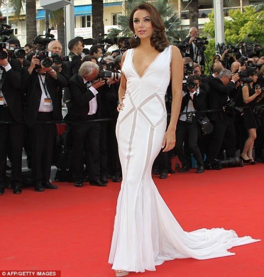Eva Longoria in Emilio Pucci Cannes Film Festival 17.5.12