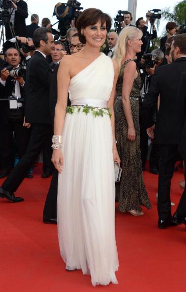 Ines de la Fressange in Lanvin, Cannes Film Festival, 17.5.12