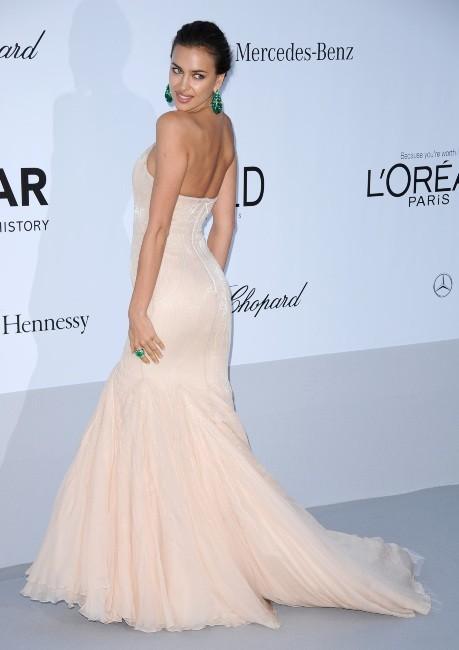 Irina Shayk in Roberto Cavalli amfAR Gala 2012