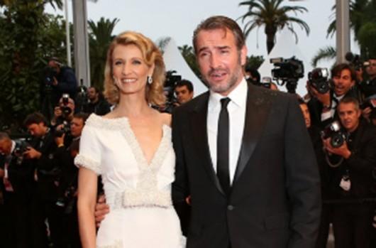 Alexandra Lamy e Jean Dujardin closing ceremony Cannes,  27.5.12