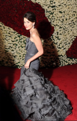 Marina Rust in Vera Wang Met Ball 2012