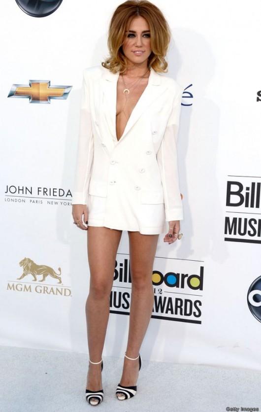 Miley Cyrus in Jean Paul Gaultier Billboard Music Awards 2012
