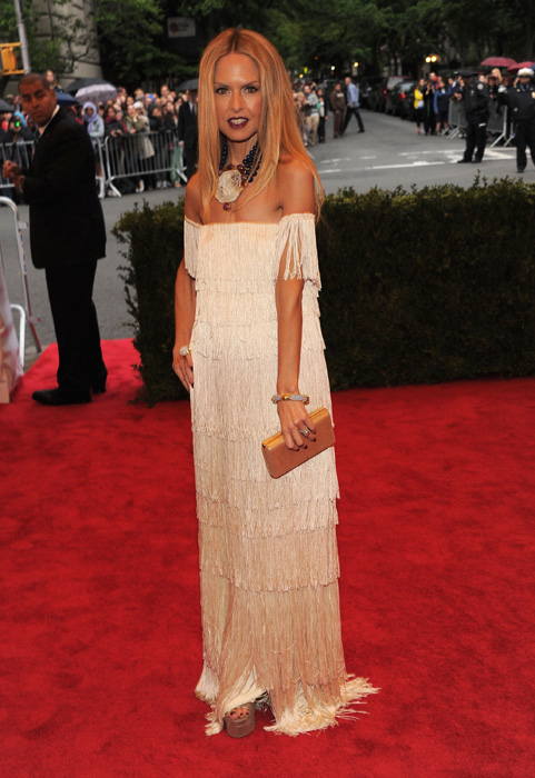 Rachel Zoe at Met Ball 2012 - Getty