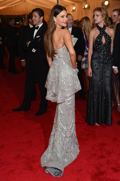 Sofia Vergara in Marchesa at Met Ball 2012 - Getty