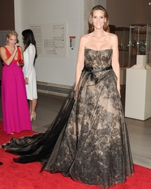Stephanie Winston in Vera Wang Met Ball 2012