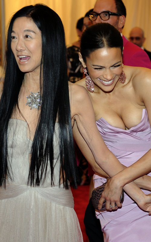 Vera Wang e Paula Patton Met Ball 2012 - Getty
