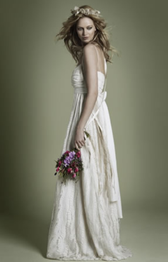 Popolare Abiti da sposa The vintage wedding dress company – The Dress EG02