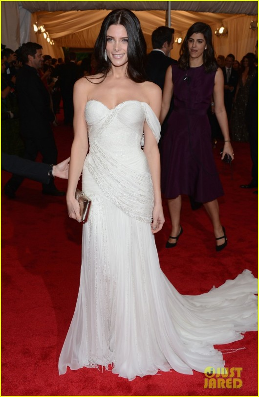 Ashley Greene in Donna Karan at Met Ball 2012 - JustJared