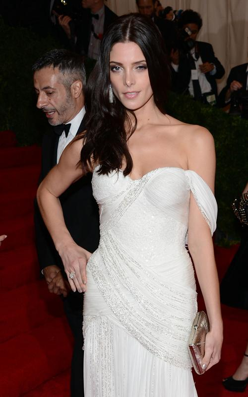 Ashley Greene in Donna Karan at Met Ball 2012