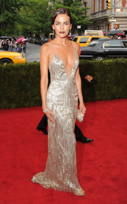 Camille Belle in Ralph Lauren at Met Ball 2012 - Getty