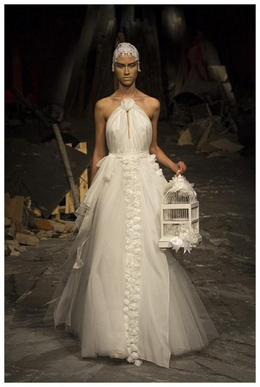 Abito da sposa David Fielden 2012 in vendita in UK al prezzo di 2.285 sterline