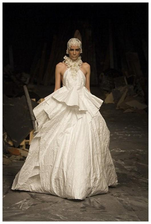 abito da sposa David Fielden 2012