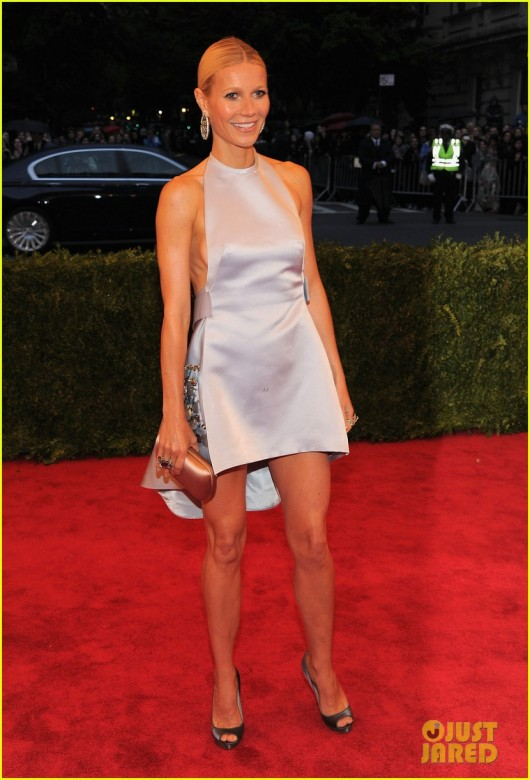 Gwyneth Paltrow in Prada at Met Ball 2012 - JustJared