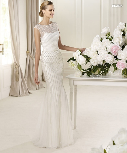 Delicia, Fashion collection, Abito da sposa Pronovias 2013