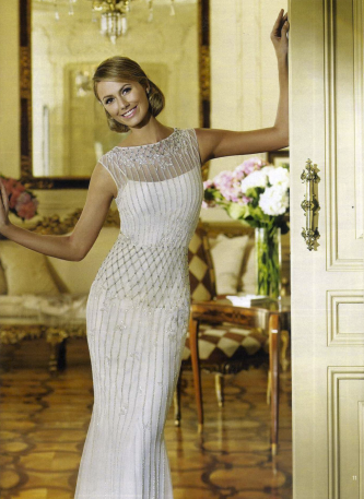 Stacy Keibler in Delicia, Fashion collection, Abito da sposa Pronovias 2013