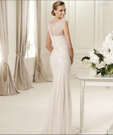 Delicia, collezione Fashion, Abito da sposa Pronovias 2013
