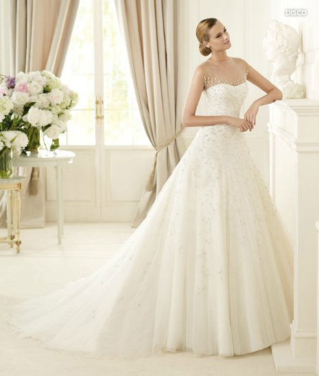 Disco, Glamour Collection, Abito da sposa Pronovias 2013