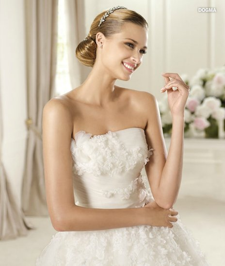 Dogma, Glamour collection, Abito da sposa Pronovias 2013
