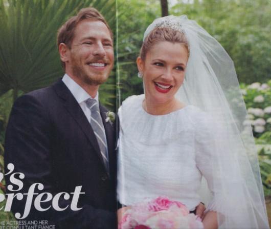 Drew Barrymore and Wil Kopelman wedding - People