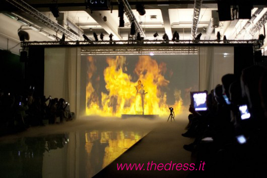 David Fielden show Sì Sposaitalia 2012 - Picture by Enrico Ratto for Thedress.it