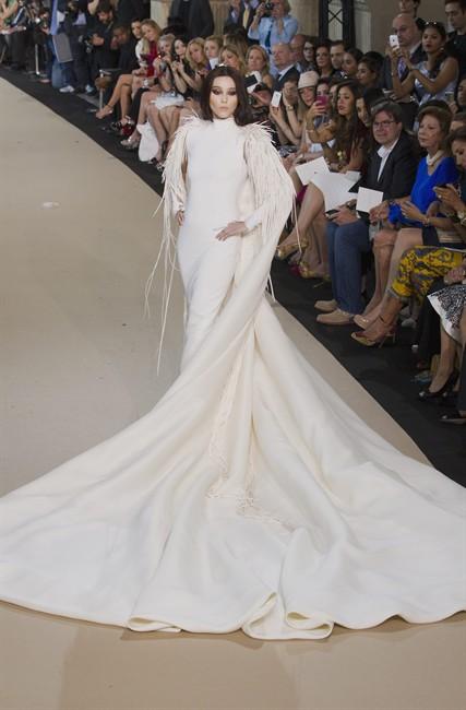 Fan Bing Bing bride for Stephane Rolland Paris Haute Couture  A/W 2012-13 - Getty