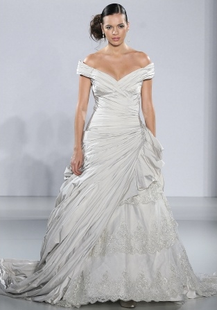 abito da sposa Frederique Ian Stuart 2013 Supernova Collection Foto Marthastewartweddings