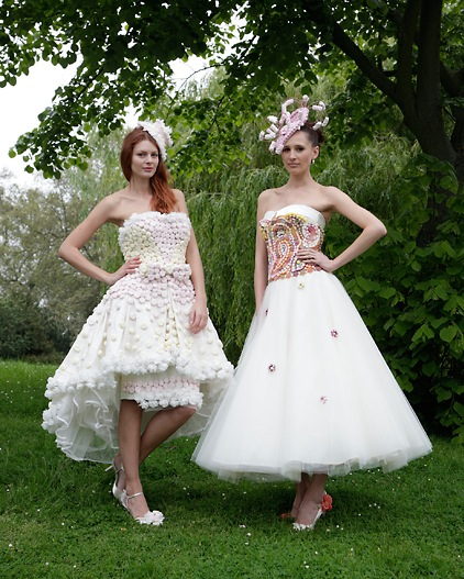 abito da sposa con caramelle Ian Stuart and Stephanie Allin candy dresses Photo Zankyou.co.uk