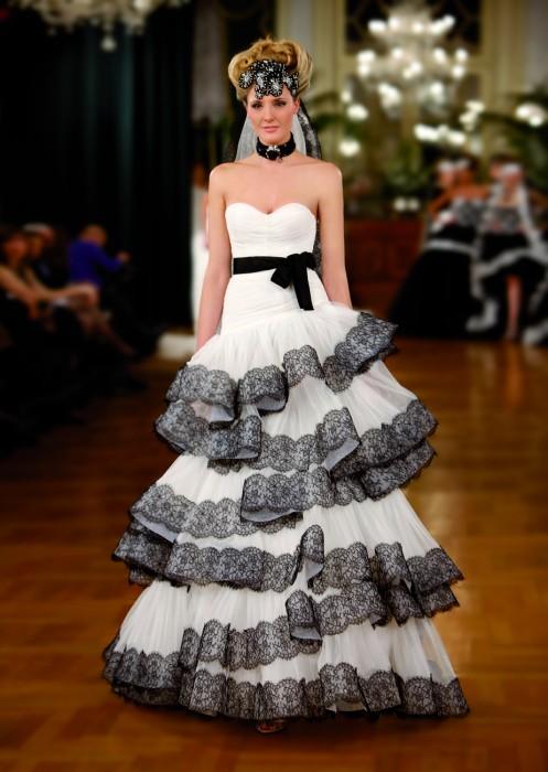abito da sposa Divina - Rosa Cipria 2013 Atelier Aimée
