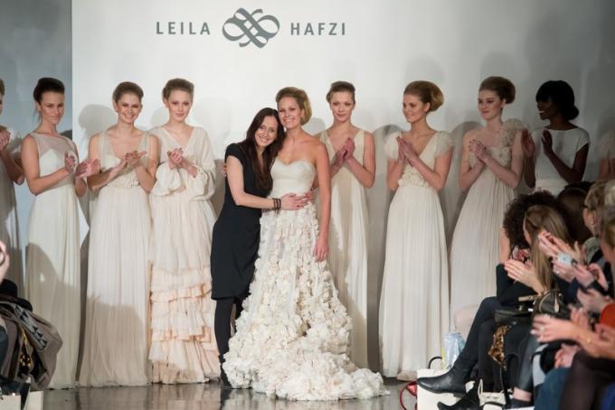 meet 455c0 cfb72 collezione sposa Leila Hafzi